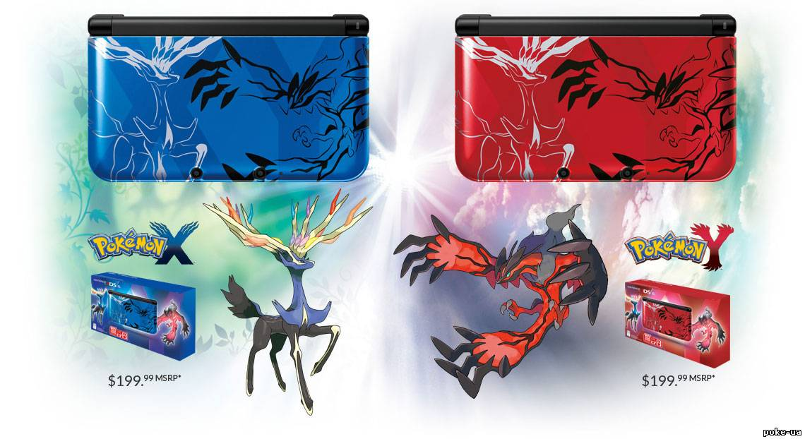 Nintendo 3DS XL Pokemon X & Y Limited Edition